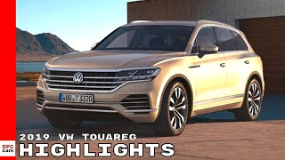 2019 VW Touareg Highlights - Volkswagen