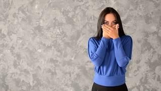 Легкий свитер из вязаной вискозы с рукавом
