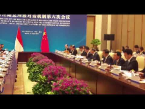Menko Polhukam Gelar Pertemuan ke-6 Forum Dialog Bilateral RI-RRT di Beijing