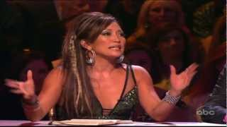 ★Dancing with the Stars★Carrie Ann Inaba FALLS OUT CHAIR!
