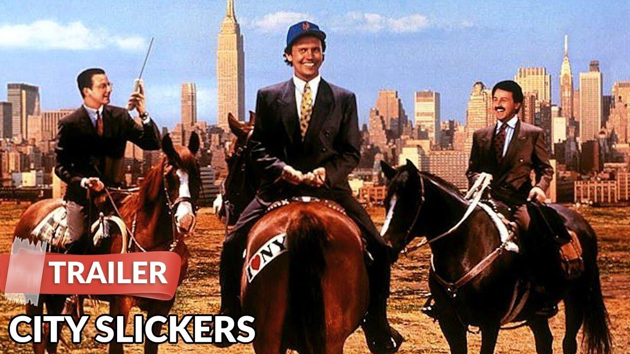 City Slickers 1991 Trailer Billy Crystal Jack Palance Youtube