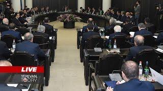 Կառավարության՝ 2017թ  առաջին նիստը