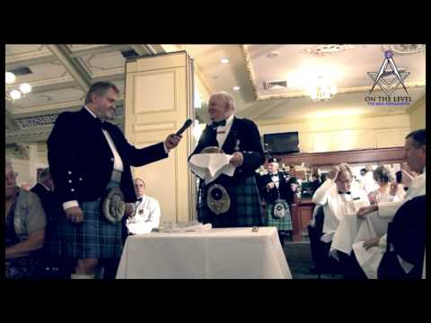 Address To The Haggis - Gathering Of The Clans 2012 Freemasons Queensland
