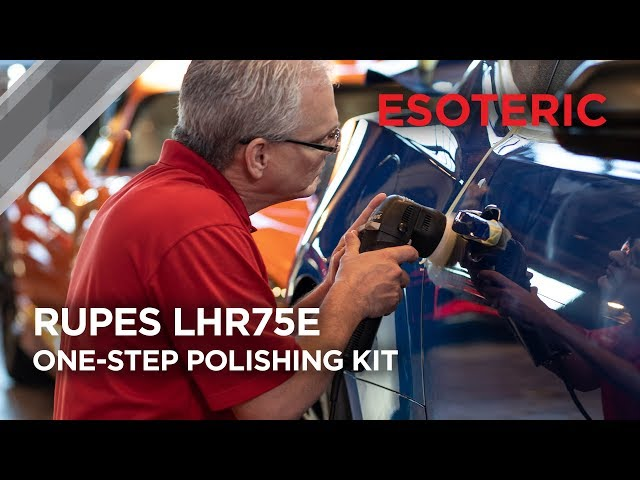 RUPES LHR75E One-Step Polishing Kit by ESOTERIC!
