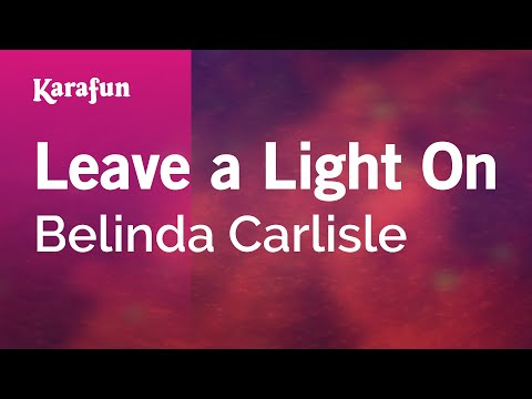 Karaoke Leave a Light On - Belinda Carlisle * mp3