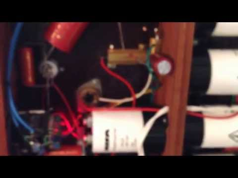 GM70 SE valve amp hand built by Rod Harris