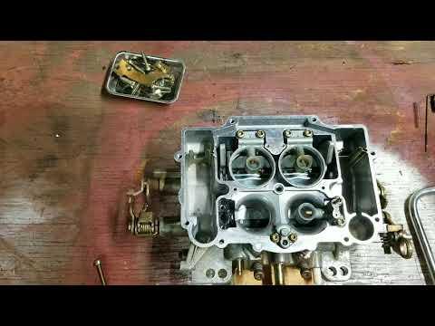 How to clean up edelbrock  carburetor