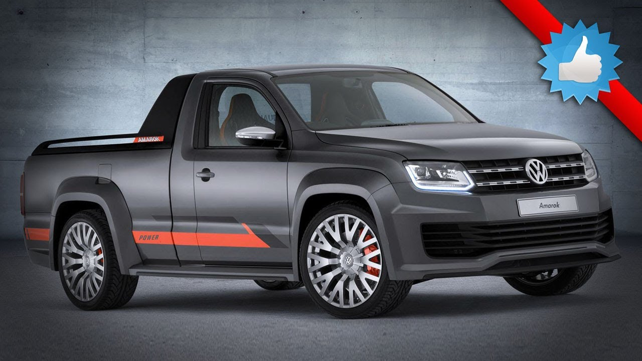 2015 Volkswagen Amarok Power Concept: 268 Horsepower - YouTube