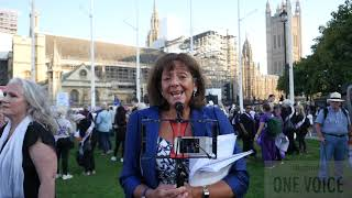 Baroness Ros Altmann #OneVoice London Rally 10th October 2018