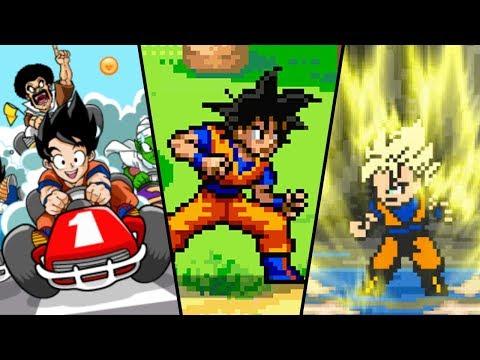 Playing FAKE Dragon Ball Games