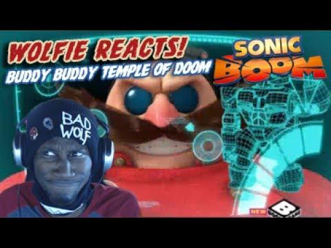 "Wolfie Reacts: Sonic Boom Season 2 Ep 37  ""Return of the Buddy Buddy Temple of Doom"" - Werewoof"