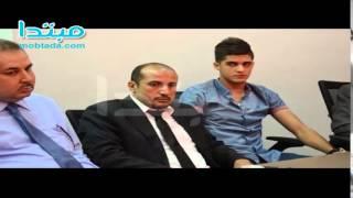 فيديو  التحقيق مع أحمد الشيخ