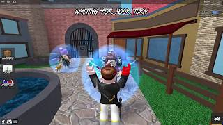 How to glitch through walls in roblox Murder Mystery 2