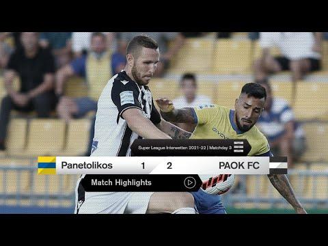 Panetolikos PAOK Goals And Highlights