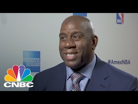 Magic Johnson Weighs In On NBA Finals, The Trump Presidency And Race Relations In The US | CNBC