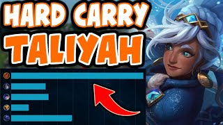 Challenger shows you how to HARD CARRY HIGH ELO with TALIYAH - League of Legends