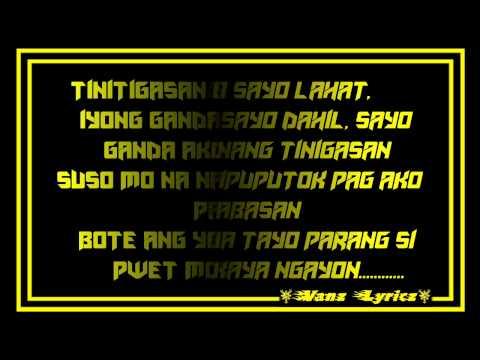 Cue C - Ang Ganda Mo (Bastos Version) Lyrics