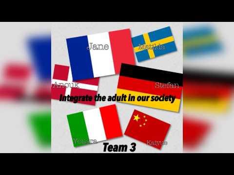 "France RadioShow - Team 3 ""Integration of adult migrants"""