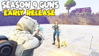 He Has Season 9 Guns EARLY! (Scammer Gets Scammed) Fortnite Save The World