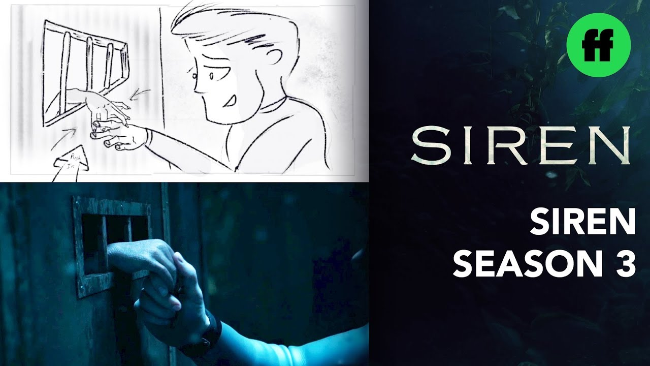 "Siren: From Storyboard to Scene | Season 3 Finale ""'The Toll of the Sea"" 