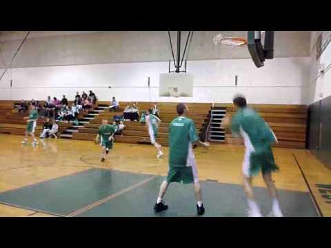 Ireland Basketball Visits West Roxbury