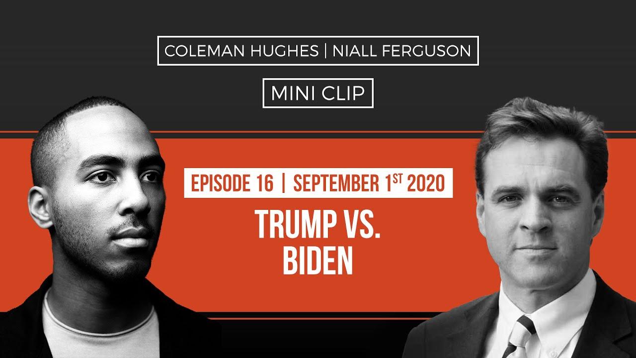 Trump vs Biden I Niall Ferguson [MINI CLIP]