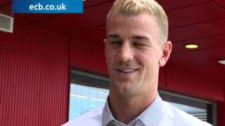 Ashes Cricket - England goalkeeper Joe Hart in Ambassadorial role