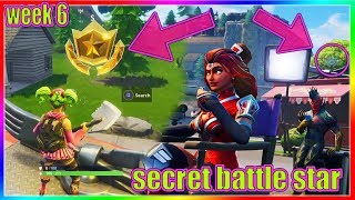 Week 6 BlockBuster SECRET Battle STAR Location in Fortnite Battle Royale (Unlock FREE TIER)