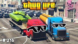 GTA 5 : THUG LIFE & FUNNY MOMENTS (Epic Wins, Funny Fails and Stunts #216)