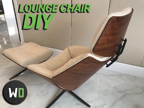 We A Build Lounge Chair |  / Как сделать кресло.