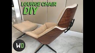 DIY Lounge chair    / Кресло своими руками.