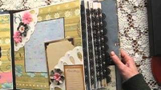 11x11 Not-So-Mini Scrapbook Album FAMILY GENEALOGY (based on my tutorial)