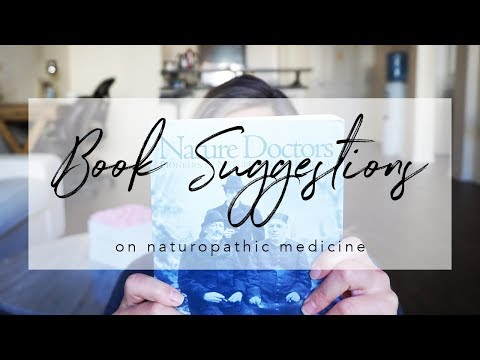 Naturopathic Medicine   BOOK SUGGESTIONS