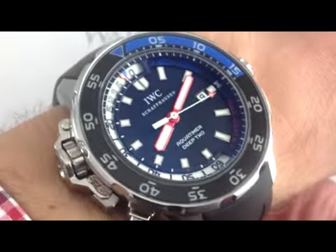 IWC Aquatimer Deep Two 3547-02 Luxury Watch Review