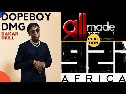 Dopeboy DMG signe dans la piraterie avec le label 92i Africa de BOOBA & ALLMADE   Dkr Drill (REVIEW)