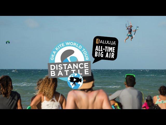 The GKA Distance Battle – Aluula All-Time Big Air   Strapless big air