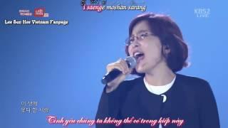 "[Vietsub + Kara] Fate - Lee Sun Hee @ Đại nhạc hội ""I Am Korea"""
