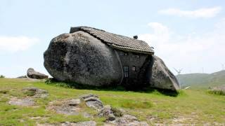 Stone House - Portugal   WOW   The Flintstones House