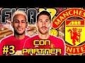 FIFA 17 Manchester United Modo Carrera #3 | FICHAJE ESTRELLA Y BUSCANDO DEFENSA | CON PARTNER