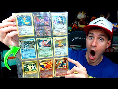A FAN SENT ME THEIR RARE POKEMON CARDS COLLECTION! (Gold Star Cards!)