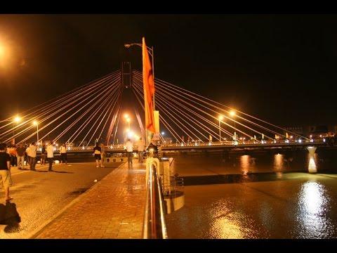 Cầu sông Hàn quay | Han River Bridge is turning