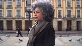 Doris Salcedo on Bogotá –