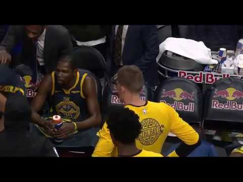 Full Kevin Durant-Draymond Green yelling video.