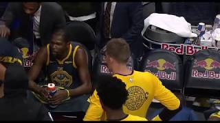 Full Kevin Durant-Draymond Green yelling video.