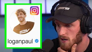 LOGAN PAUL IS CHANGING HIS INSTAGRAM GAME
