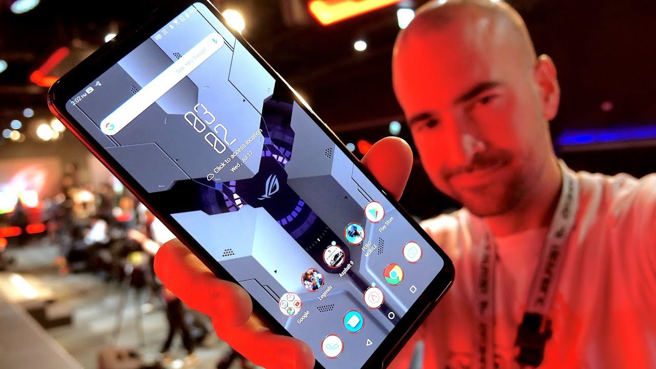 Asus ROG Phone 2 Hands-on Review   6000mAh Gaming Beast!