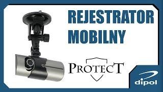 Rejestrator samochodowy z GPS PROTECT 802 thumbnail