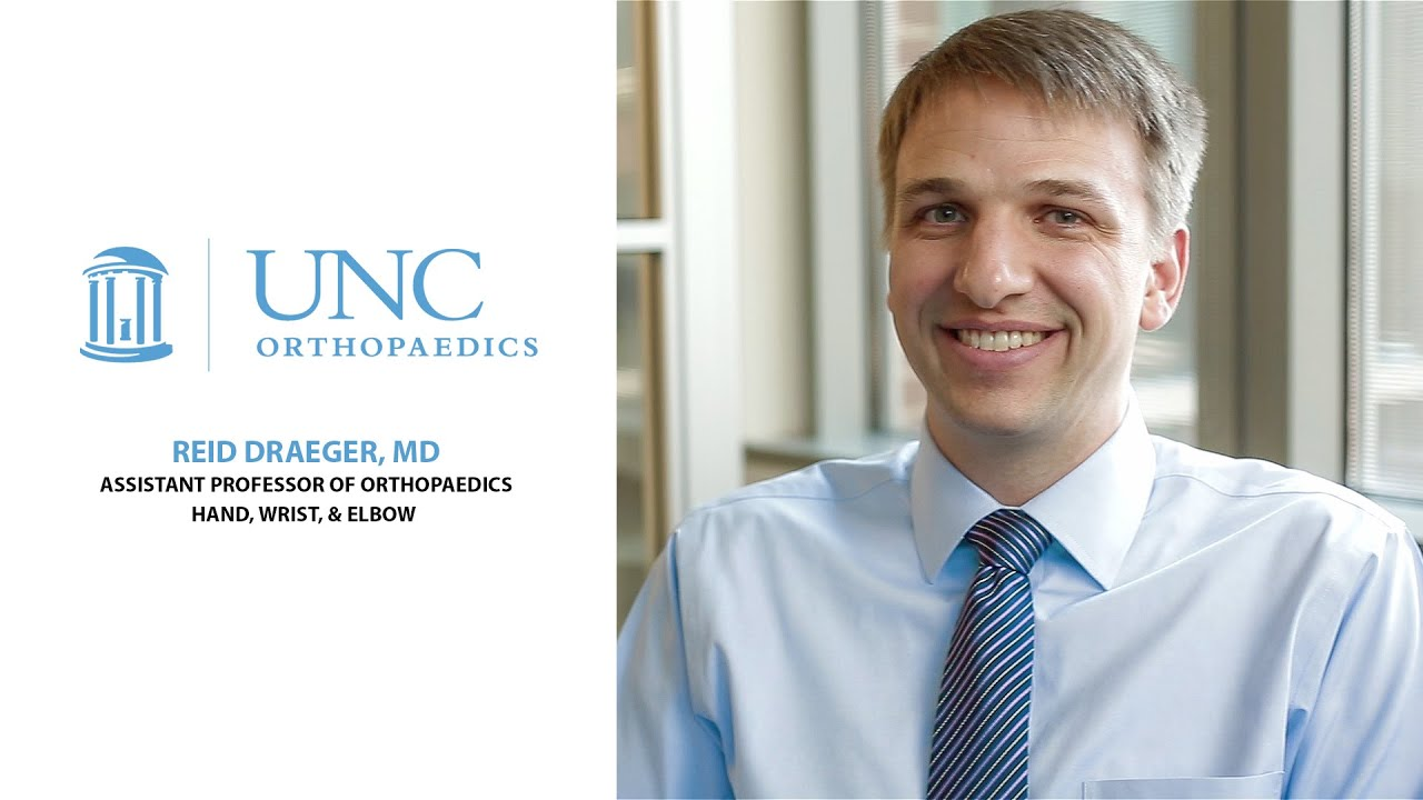 Reid Draeger | UNC Orthopaedics
