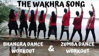 The Wakhra Song Dance Choreography - Judgementall Hai Kya | Rajkumar Rao | Kangana Ranaut | Zumba