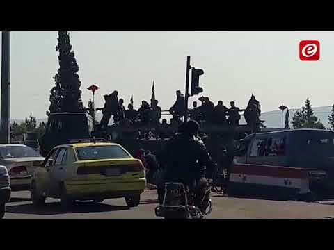 النشرة: وصول تعزيزات للجيش السوري الى محاور الغوطة الشرقية